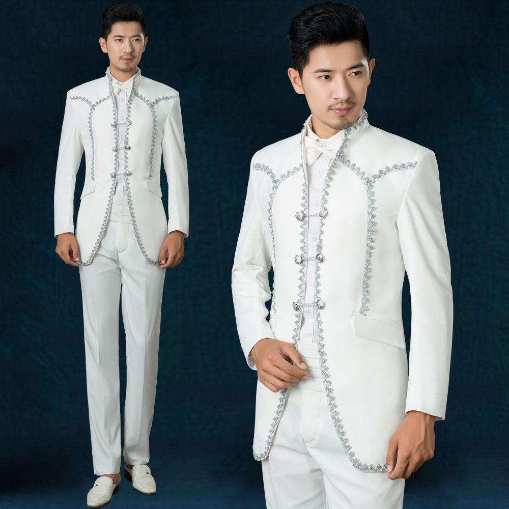 2018 Wholesale 2016new Fasion Royal Prince Tuxedo Male Host Choir ...