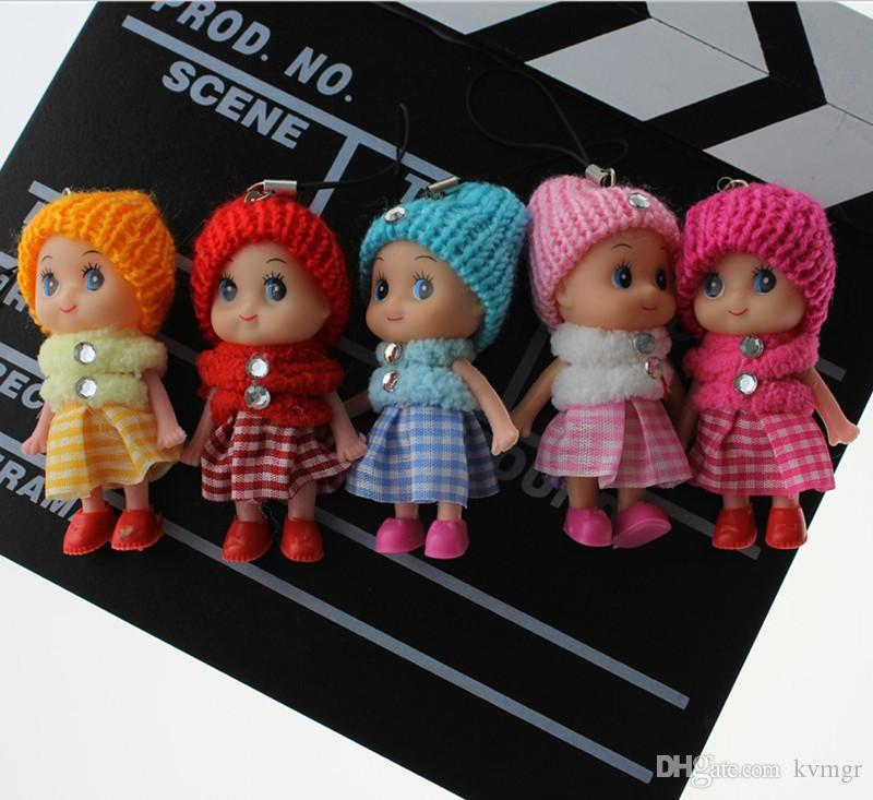 2017 new Kids Toys Dolls Soft Interactive Baby Dolls Toy Mini Doll For Girls High quality cheap gift