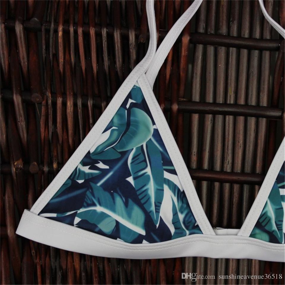 패션 새로운 인쇄 비키니 브라질 레트로 비키니 수영복 섹시한 수영복 프린트 수영복