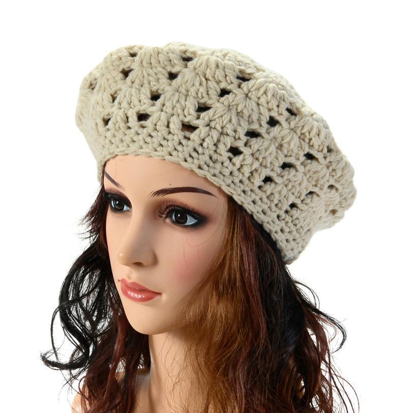 Wholesale-Fashion Winter Beret For Women Cap Hat Gorras Boina ... 8eec2b13981