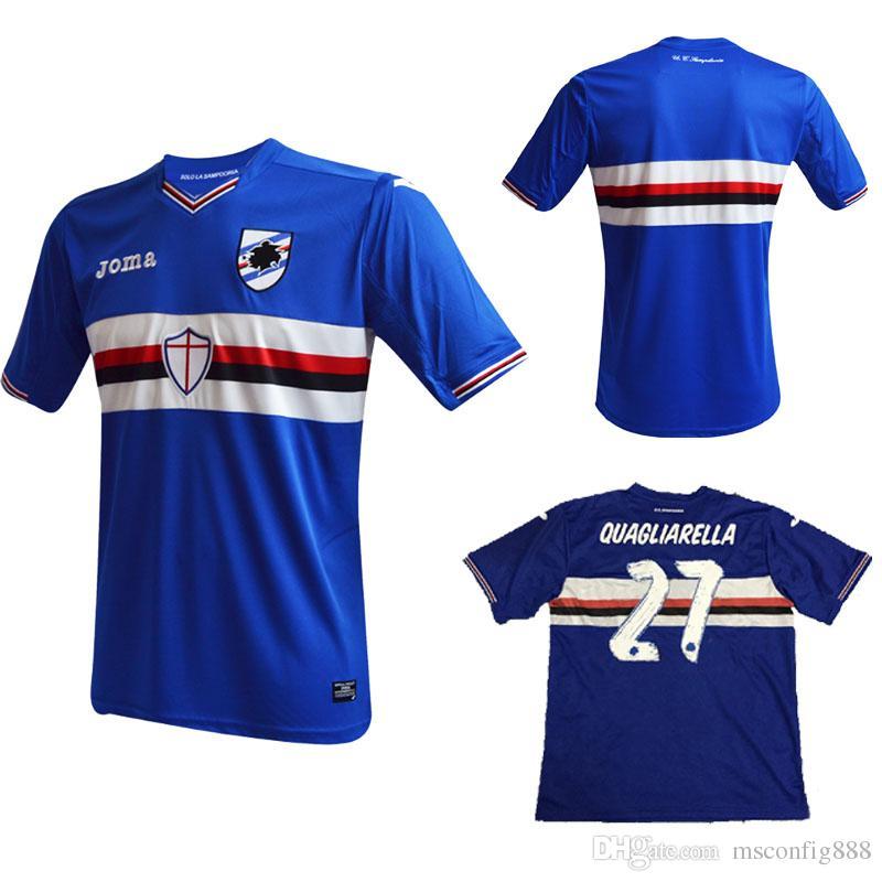 abbigliamento calcio Sampdoria personalizzata