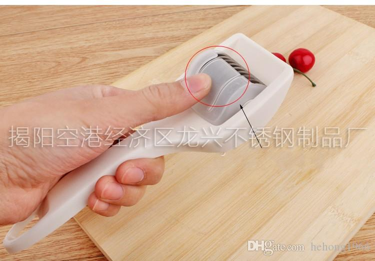 Creative Onion Cutter Use Kitchen Knife Kitchens Chopper Seasoning Ddevice Creative Kitchen Gadget Popular Trial Order 7 5rx