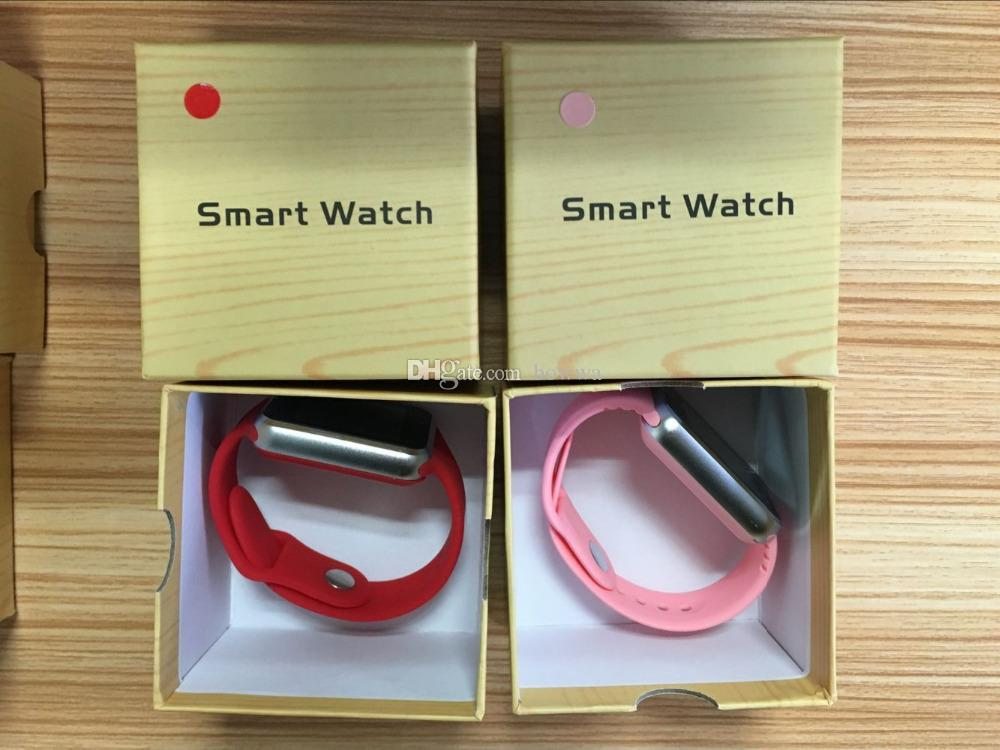 2018 Barato Top A1 relógio inteligente telefone Venda Quente Smartwatches Bluetooth Wearable Relógios Inteligentes Com Câmera para Android Smartphone Smartwatch