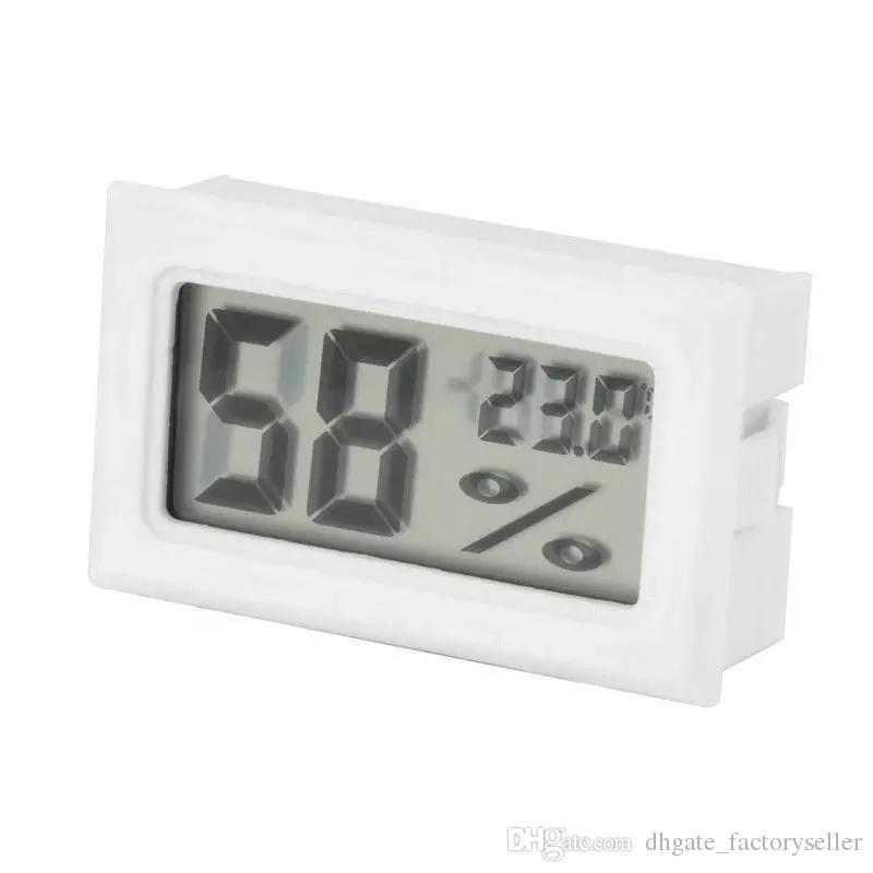2017 Mini Numérique LCD Intérieur Pratique Capteur De Température Humidité Compteur Thermomètre Hygromètre Jauge