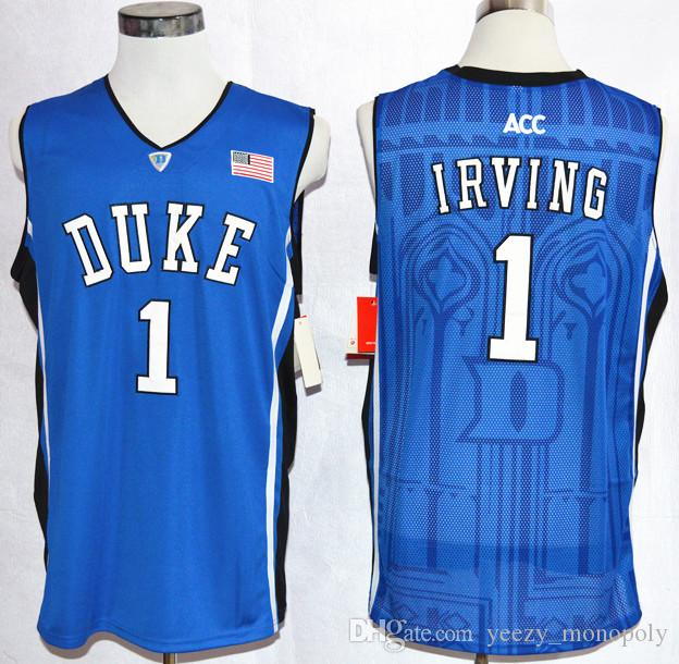 promo code 07432 20fa2 real kyrie irving blue jersey youth a93ae 1f5cd