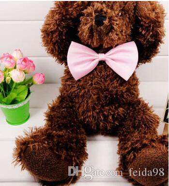 Yeni Nitelikli Yeni SıCAK Moda Sevimli Köpek Yavru Kedi Yavru Pet Oyuncak Çocuk Papyon Kravat Giysi Levert Dropship G5