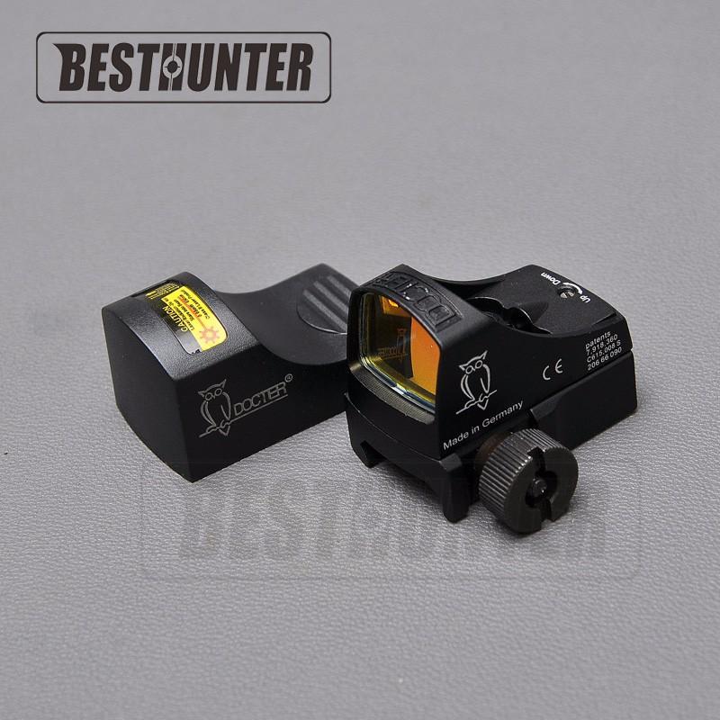 Docter 3 Sight Red Dot Sight Fusils de chasse Red Dot Tactical Visées Avant et Arrière Optique Riflescope Auto Scope Laser Scope