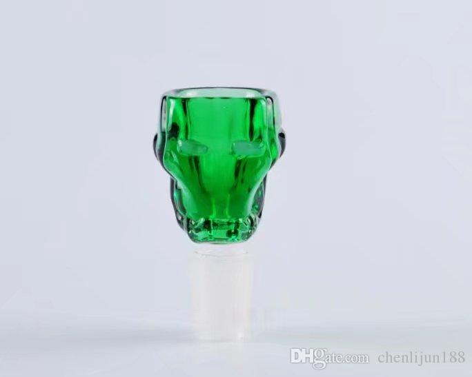 Ghost Head blister Wholesale Glass Hookah, Glass Water Pipe Fittings,