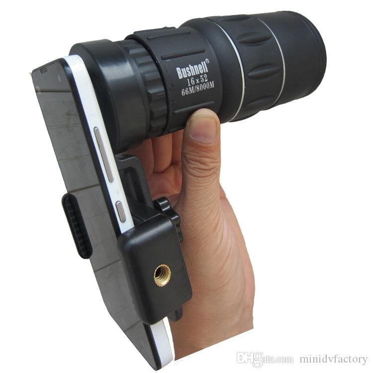 16x52 Monocular Dual Focus Optics Zoom Telescope Day & Low Night Vision For Birds Watching/ Wildlife/ Hunting/ Camping/ Hiking/ Tourism