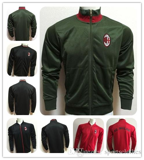 Green black red jacket