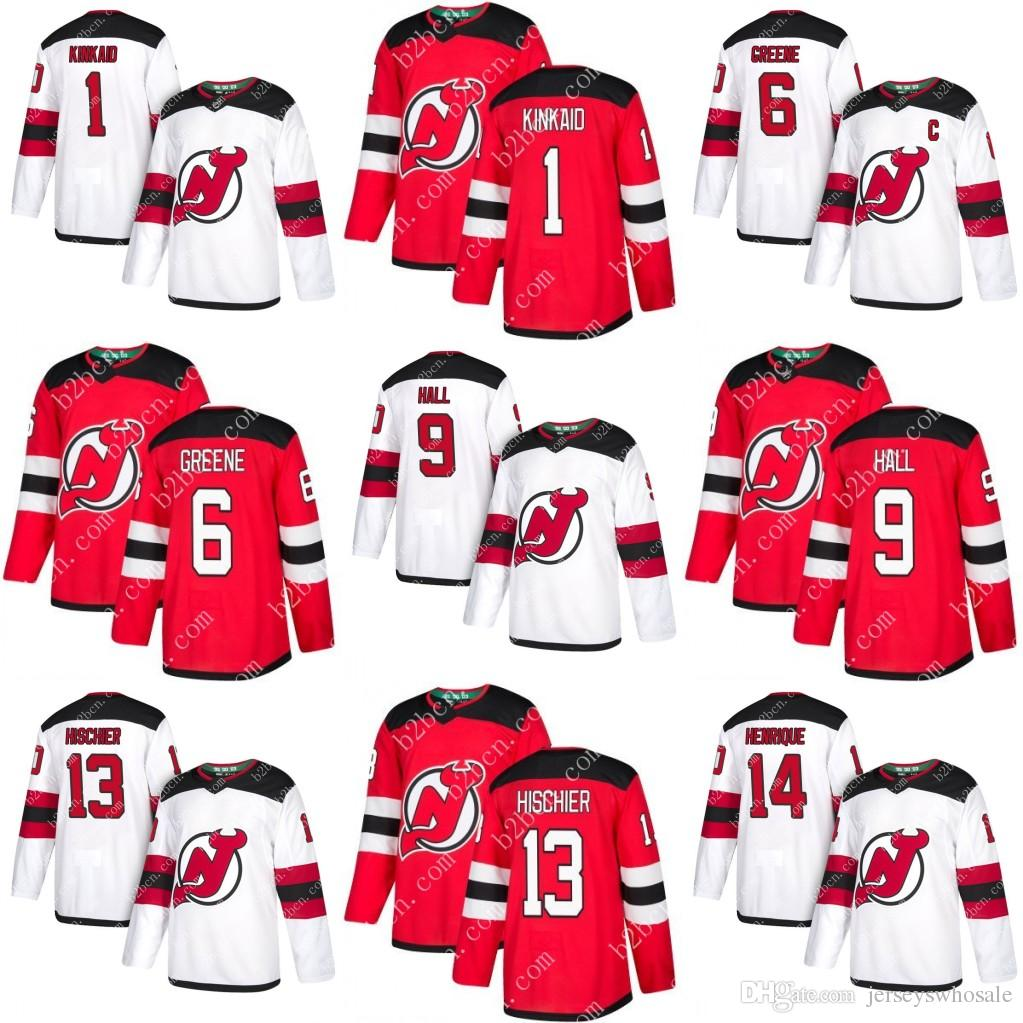 ... where can i buy custom men youth 2018 new jersey devils 9 taylor hall 6  andy get keith kinkaid usa ... 5191d1c2d