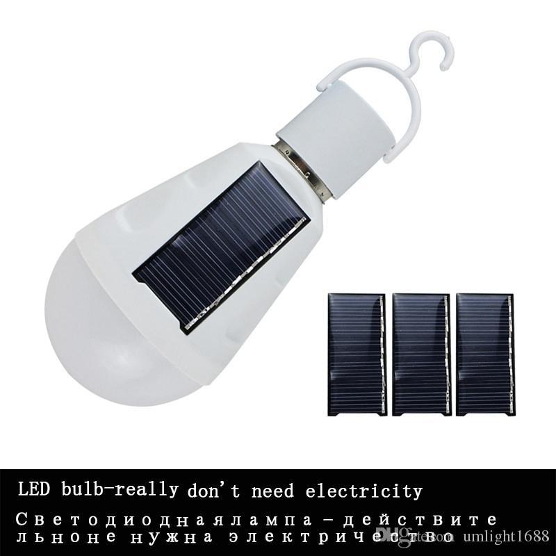 Umlight1688 Tragbare Solar Glühbirnen Abgeschaltet Leuchten Ab Sonnenlicht Aufgeladen Touch Licht Eingang Wasser Kann Helle Birne Wasserdicht E27