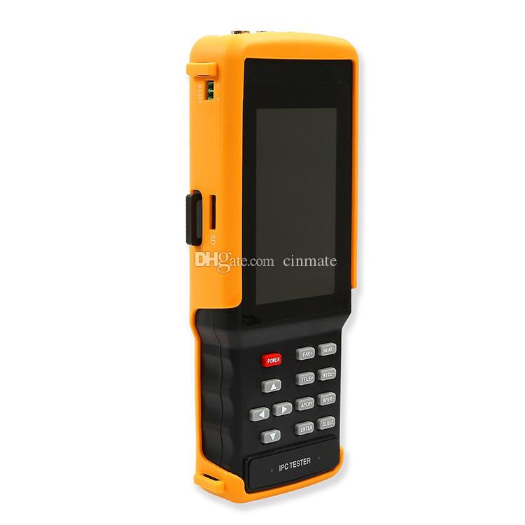 4.3 Inch 5-in-1 Touchscreen Network Monitoring Tester CCTV Tester for IP/AHD/CVI/TVI/Analog Cameras Built-in Wireless WIFI IPC-9300ADH