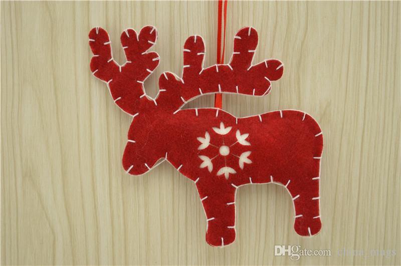 Noel Ağacı Süsleri Kolye Asılı Süsleme Noel Süslemeleri Duvar kolye mang desenleri ile ücretsiz kargo