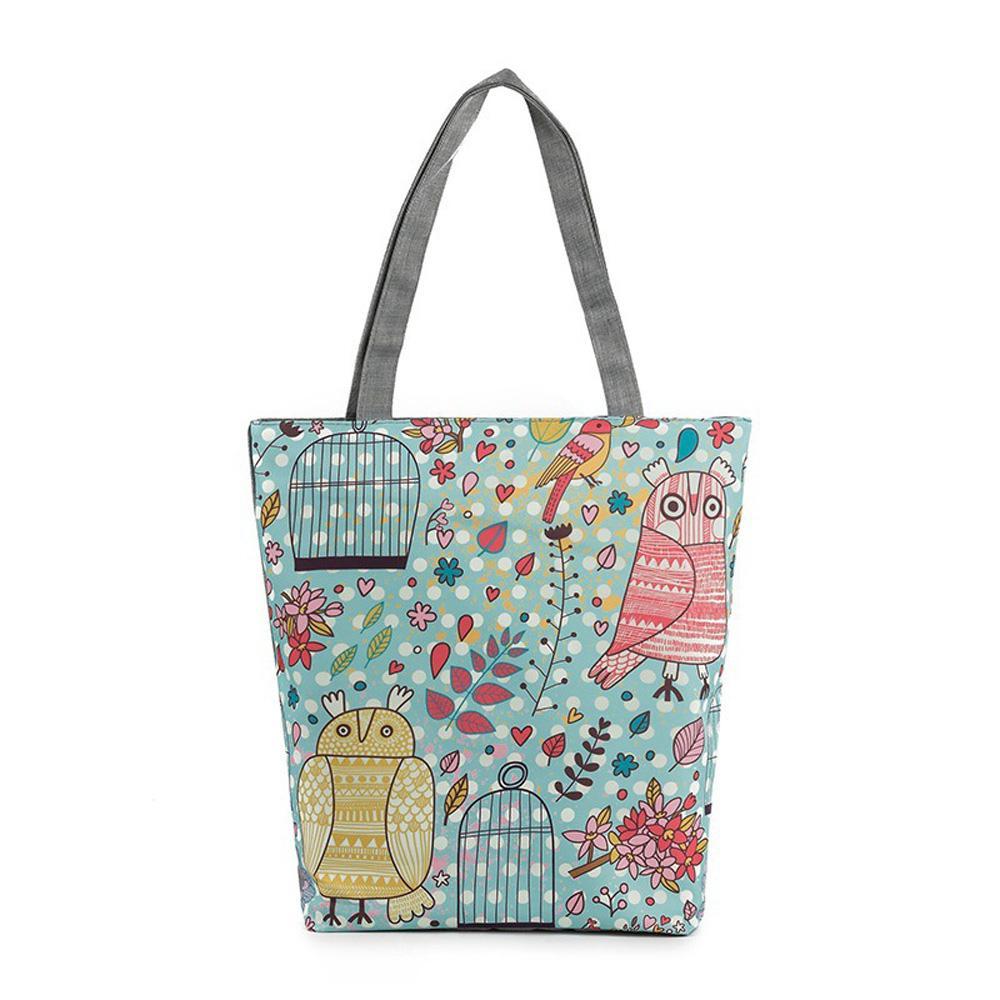 7618726befdc Wholesale-Girl Fashion Summer Canvas Catoon Shopper Shoulder Bag Beach Bags  Big Capacity Tote Women Ladies Casual Shopping Handbag 2016 Handbag Yellow  Bags ...