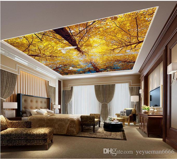 gro handel benutzerdefinierte luxus 3d decke tapete traum. Black Bedroom Furniture Sets. Home Design Ideas