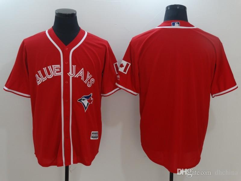 2017 New Baseball Jerseys 2017 Canada Day Blue Jays Jersey