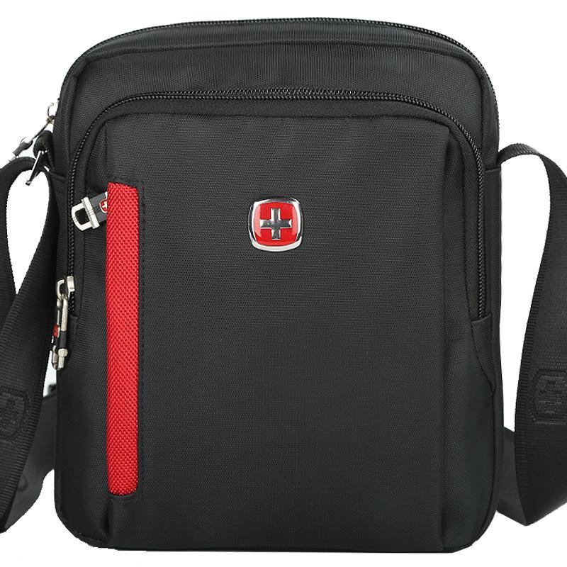 Scogolf Black Messenger Bag Men/Shoulder Bags/Euro Style Crossbody ...