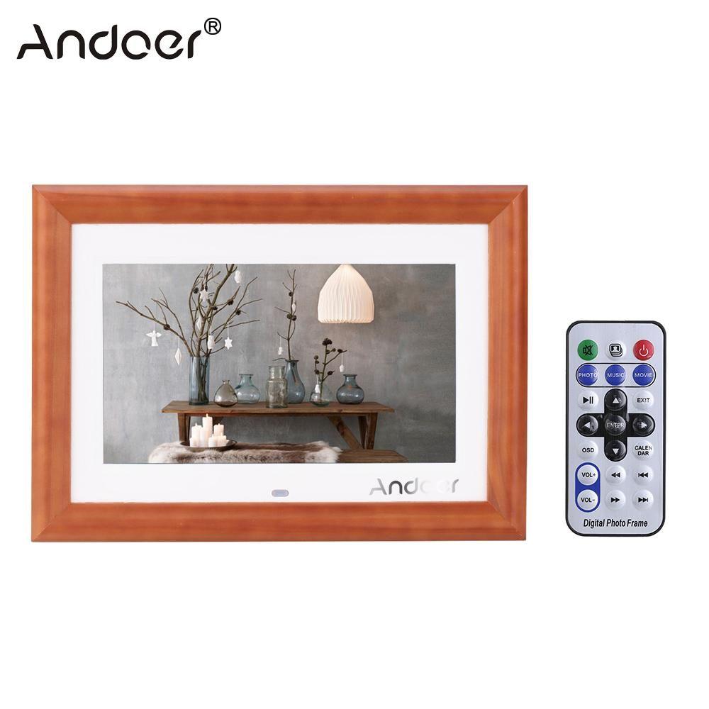 Großhandel Großhandels Andoer 10 Lcd Hd Digitaler Fotorahmen ...