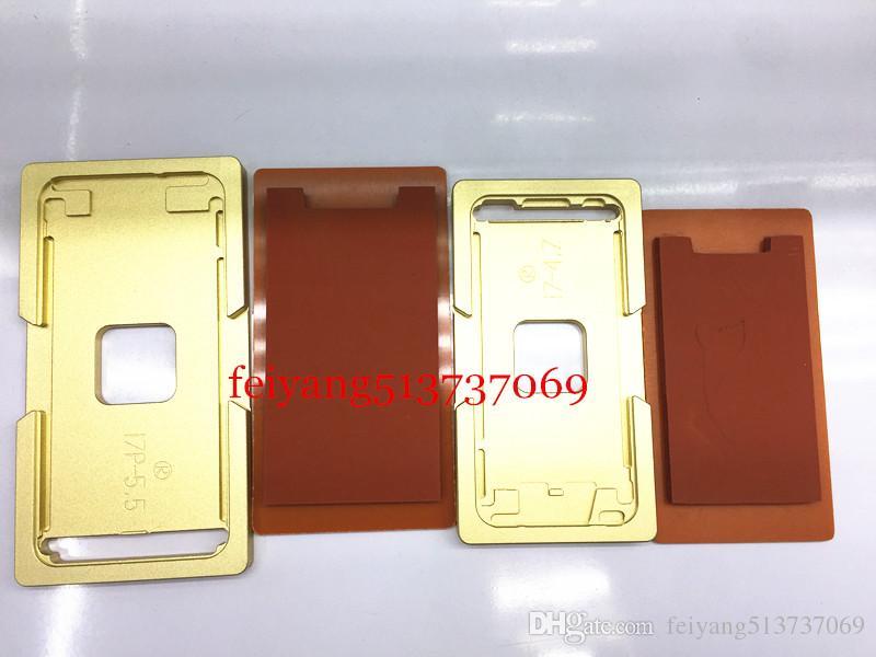 For iphone 5 5c 5s 6 6s 6p 6sP 7 7p Plus frame with mould Precision aluminium mold For OCA Laminating Machine Repair Tools