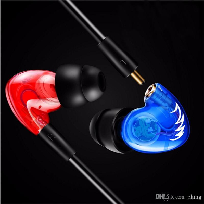 Professional DIY Waterproof Stereo Earphones Ear Hook HIFI Deep Bass Headphones Sport Running Headset with Mic Detachable Cables