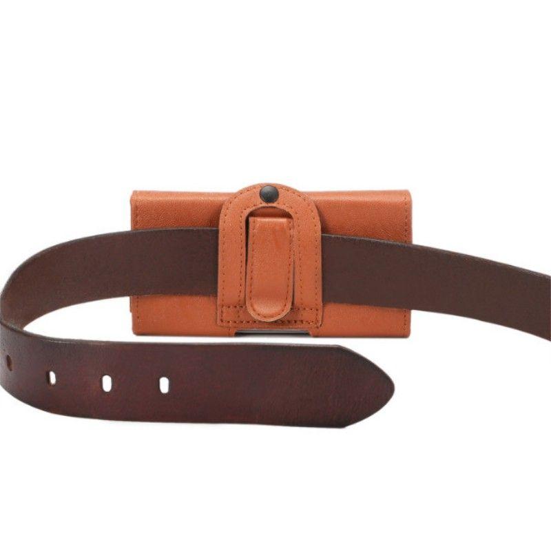 Belt Clip PU Leather Waist Holder Flip Pouch Case for BLU Studio G Plus/Studio 5.5 C/Studio X Plus/Vivo XL/Life XL 3G/Studio 5.5 HD