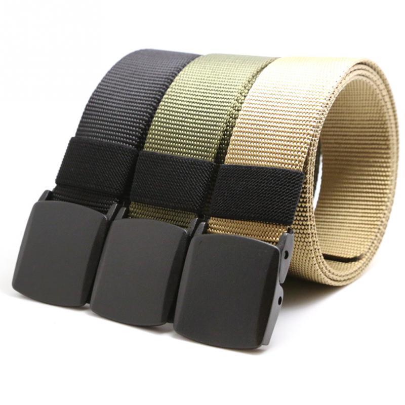 Compre Al Por Mayor 2016 Marca Nueva Hebilla Automática De Nylon Cinturón  Macho Ejército Táctico Cinturón Jeans Hombres Cintura Cinturones De Diseño  Correa ... 0948a1fd7d41