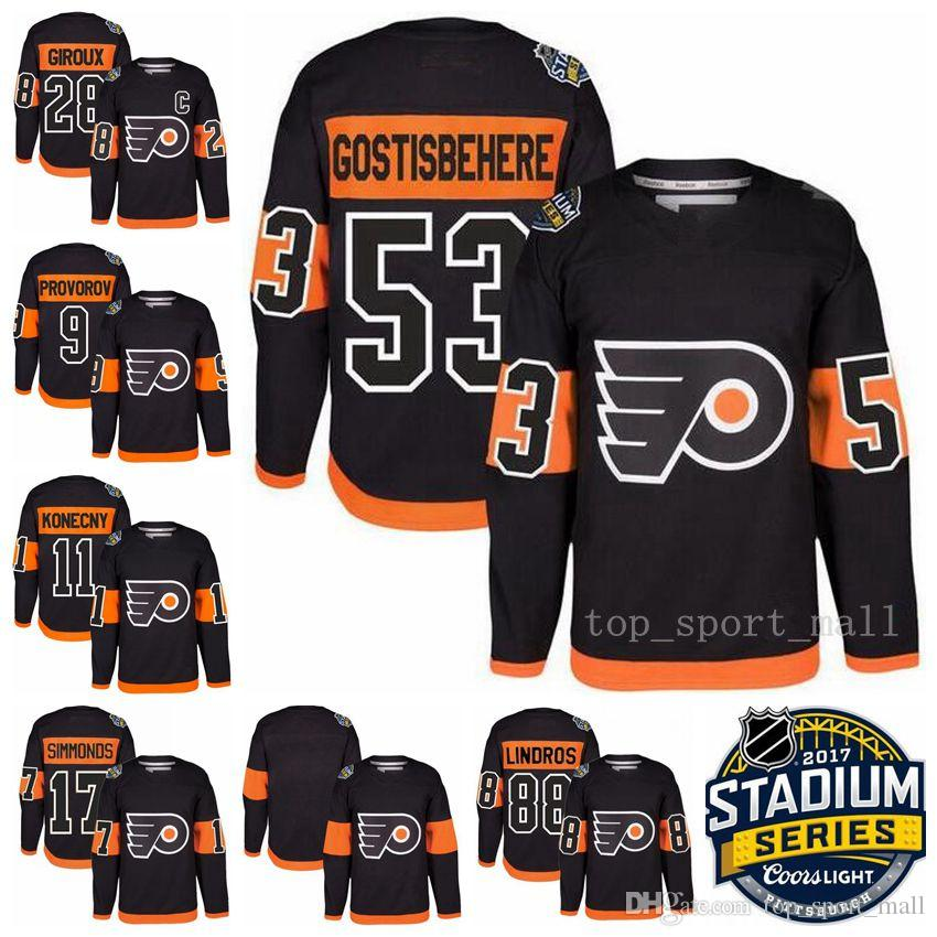 sports shoes 0e40a 6e737 flyers 28 claude giroux black 2017 stadium series stitched ...