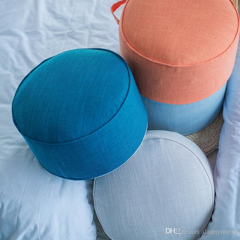 Round floor cushion balcony tatami futon Cushion home restaurant club yoga Mat large seat cushion