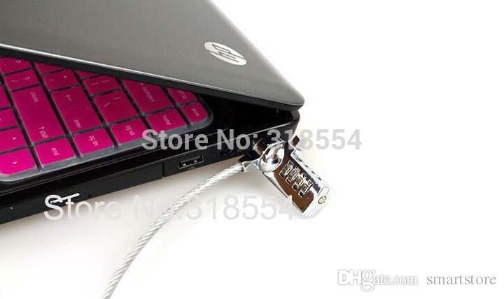 / # Combinazione di sicurezza Blocco di sicurezza password numerica di sicurezza notebook Computer portatile Cavo computer PC Blocco 0001