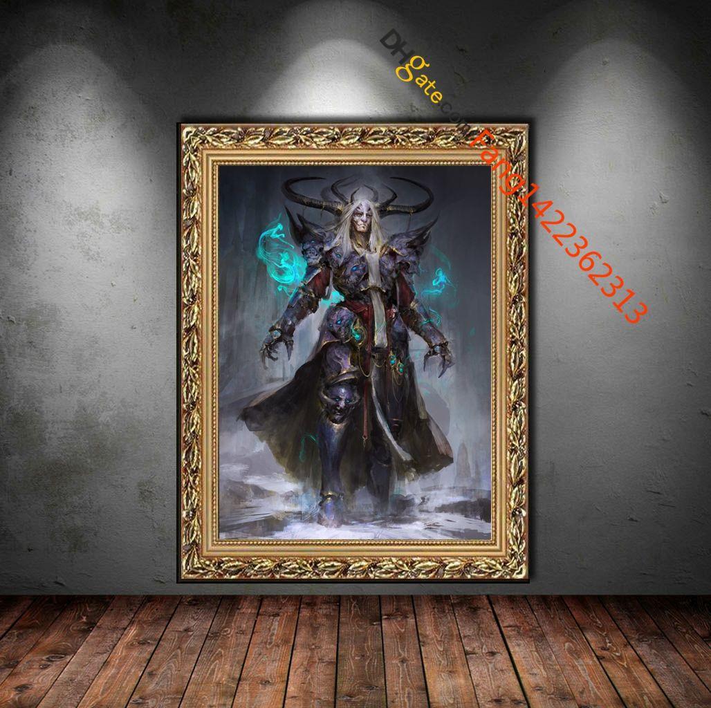 Ars Goetia President Ose Premium Art Print. Wall Art Painting The ...