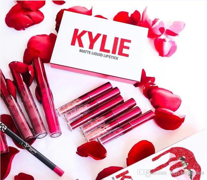 New kylie jenner valentines lipkit edition a set lipstick high new kylie jenner valentines lipkit edition a set lipstick high quality kylie valentine gift kylie valentines lipkit online with 492piece on negle Gallery