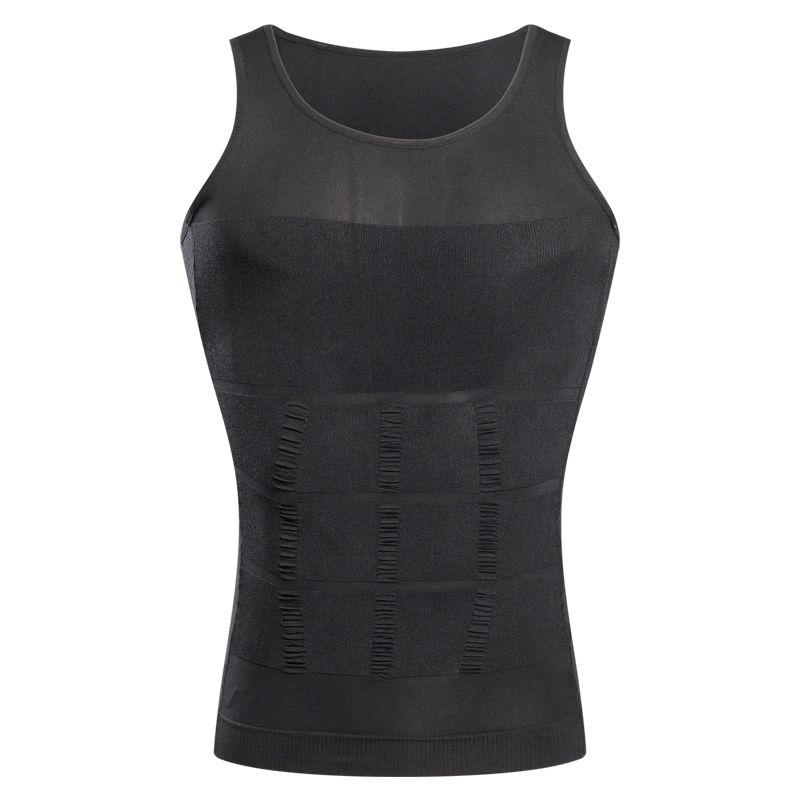 Dünner Aufzug für die Männer, die Weste-Shirt-Körper-Formungs-Opp-Beutel-Verpackung / abnehmen, geben Verschiffen frei