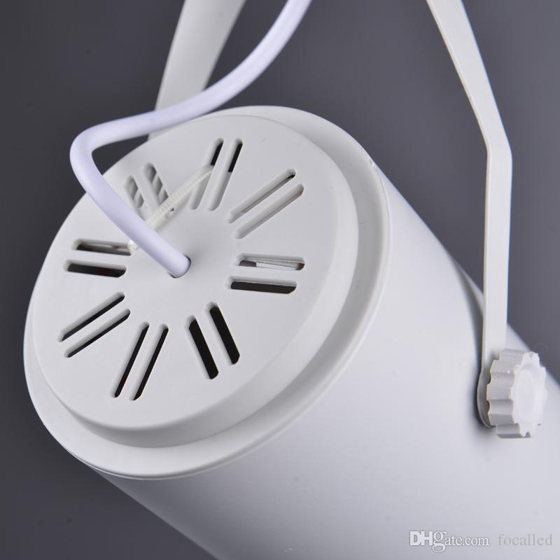 LED COB Track Light 5W 7W 9W 12W Indoor Lighting Rail Lights dimmable Spotlight Clothing Shoe Shop AC110V-240V