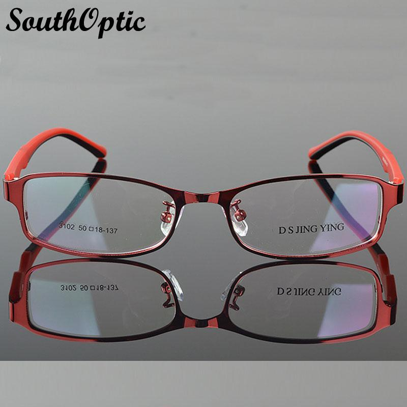 73f1bf6888 Wholesale- 2016 New Morden Steel Plate Stainless Steel Excellent Glasses  Women 3102 Prescription Optical Frame Beautiful Eyeglasses Frame Frame  Frames Dc ...