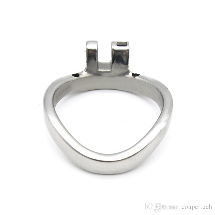 Additional Arc Chastity Base Ring fit for New Men Chastity Device in Our Shop Curved 3 size choose Cock Cage Bondage Ring