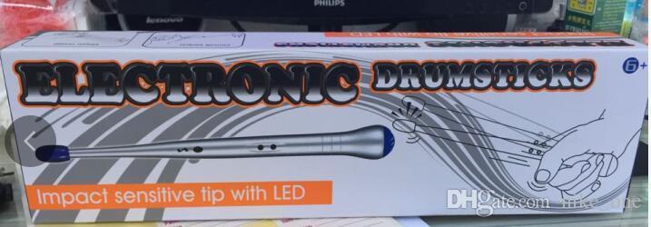 Elektronik Müzik Oyuncak Davul Yenilik Hediye Eğitici Oyuncak Çocuklar için Çocuk Çocuk Elektrikli Davul Sopa Ritim Perküsyon Hava Parmak DHL