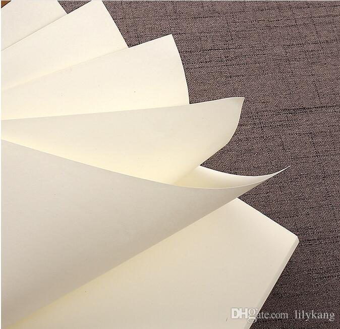 Halloween kraft papéis notebook em branco livro notepad livros de aluno macio copybook memorandos diários Kraft escola para cadernos de jornal do vintage