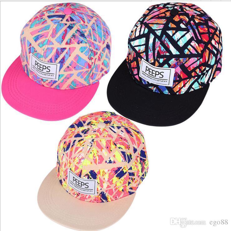f7639ea370790 Compre Nueva Moda Rosa Gorra De Béisbol Snapback Flower Sombreros Y Gorras  Para Hombres Mujeres Deportes Hip Hop Sombrero Plano A  5.03 Del Ego88