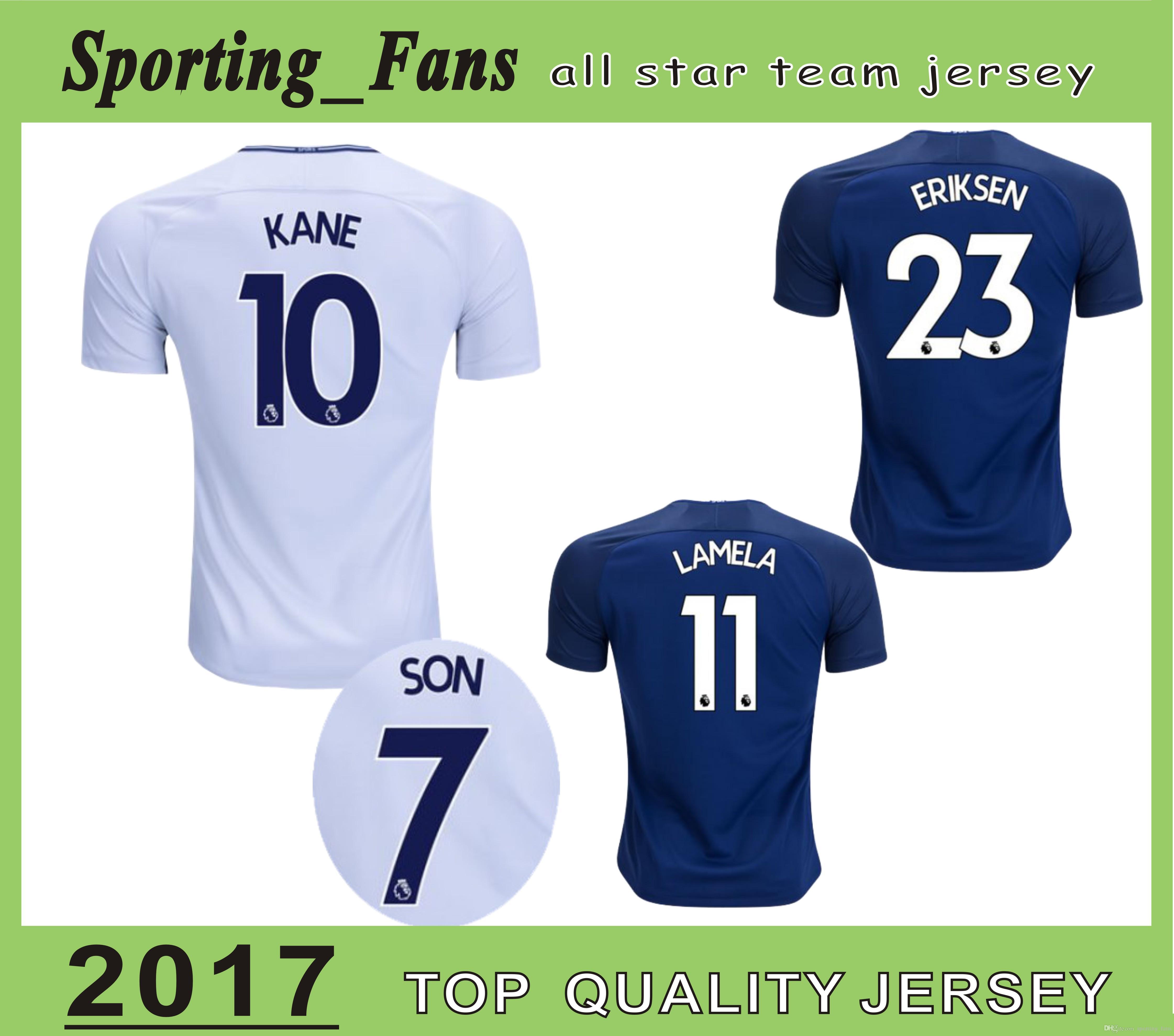 2019 Big Size S 4XL Kane Soccer Jersey Eriksen Walker Rose Vertonghen Son  Janssen Lamela Dele Football Tshirt Maillot De Foot Camisa Jersey From ... 2b242eb47