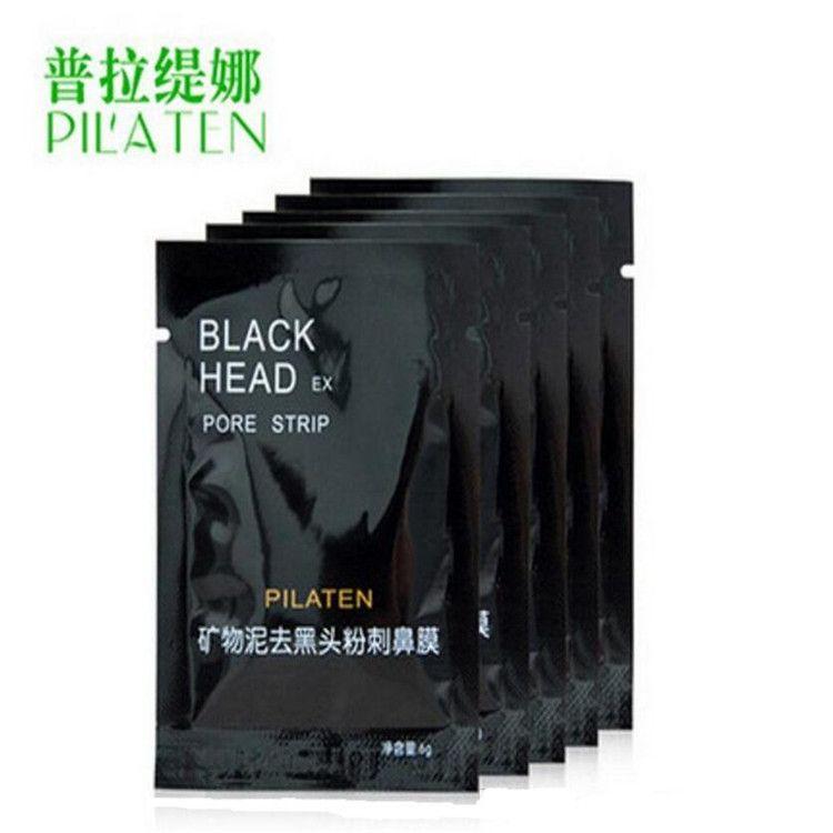 2015 PILATEN Yüz Mineraller Conk Burun Siyah Nokta Remover Maske Gözenek Temizleyici Burun Siyah Kafa EX Gözenek Şeridi dhl ücretsiz L04