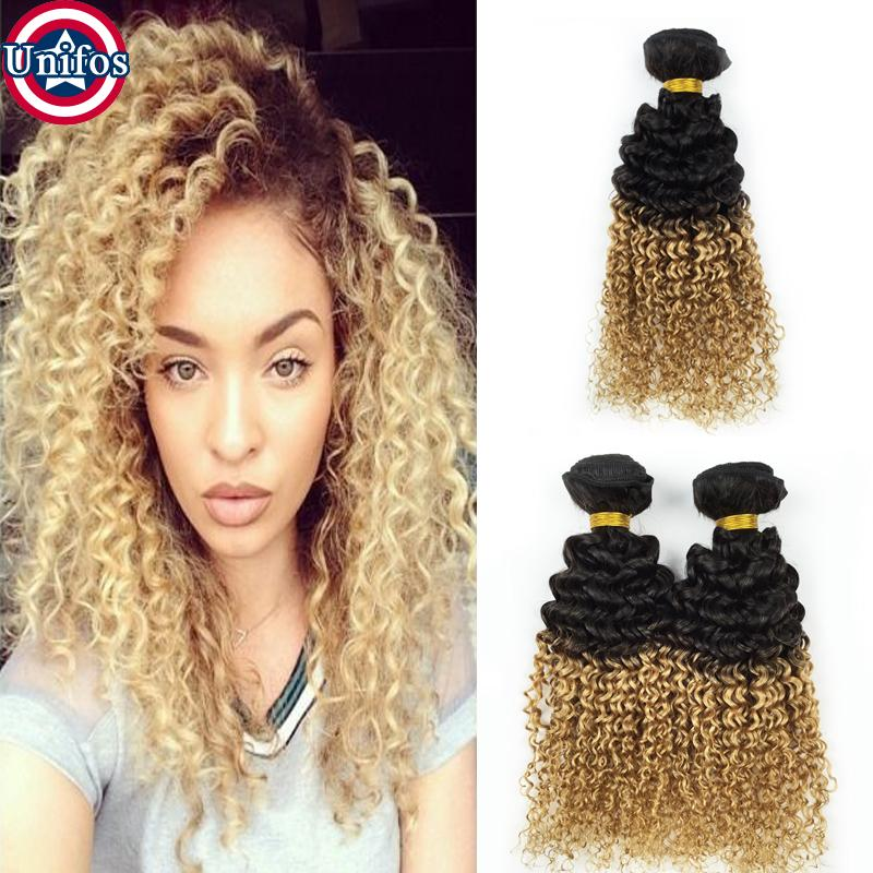 Cheap brazilian ombre blonde curly human hair extensions 3 bundles cheap brazilian ombre blonde curly human hair extensions 3 bundles brazilian virgin ombre blonde jerry curly hair 1b27 two tone human hair weave curly hair pmusecretfo Image collections