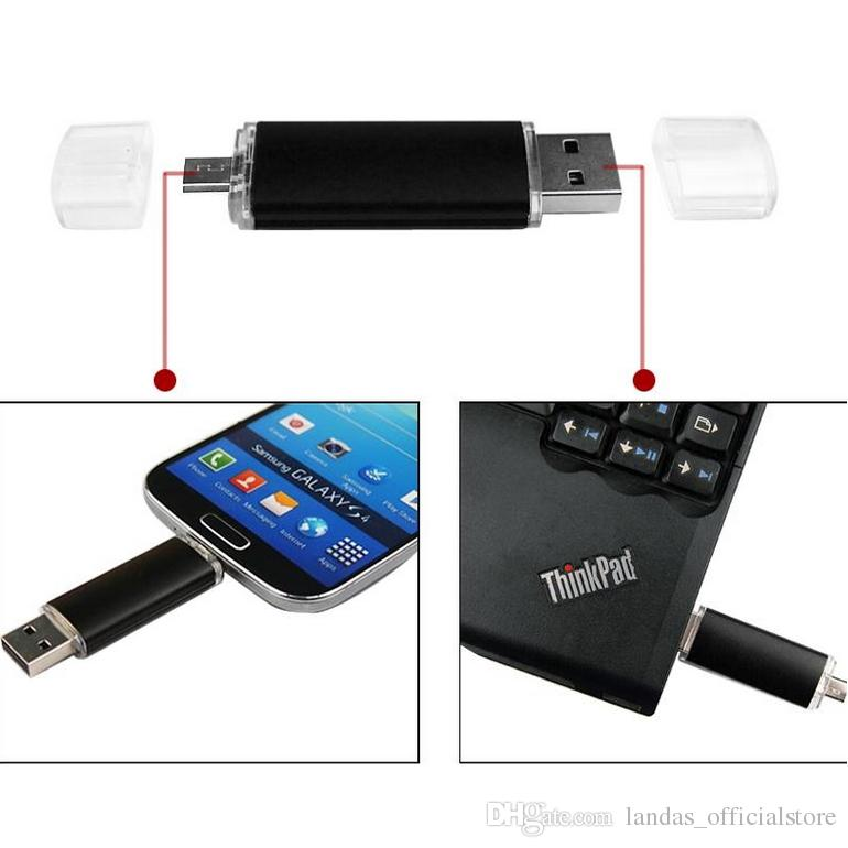 New Fashion Android OTG USB Flash Drive Pen Drive 4gb 8gb 16gb 32gb 64GB Pendrive 32gb 64gb USB 2.0 Memory stick Key U disk for wedding gift