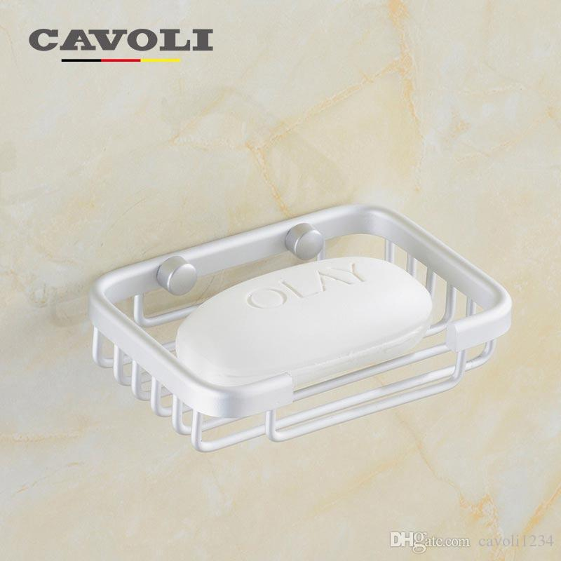 2018 Aluminum Anodizing Soap Dishes Shower Box Concise Net Does Not Rust Brand Bathroom Accessories Cavoli 9155 From Cavoli1234 1026