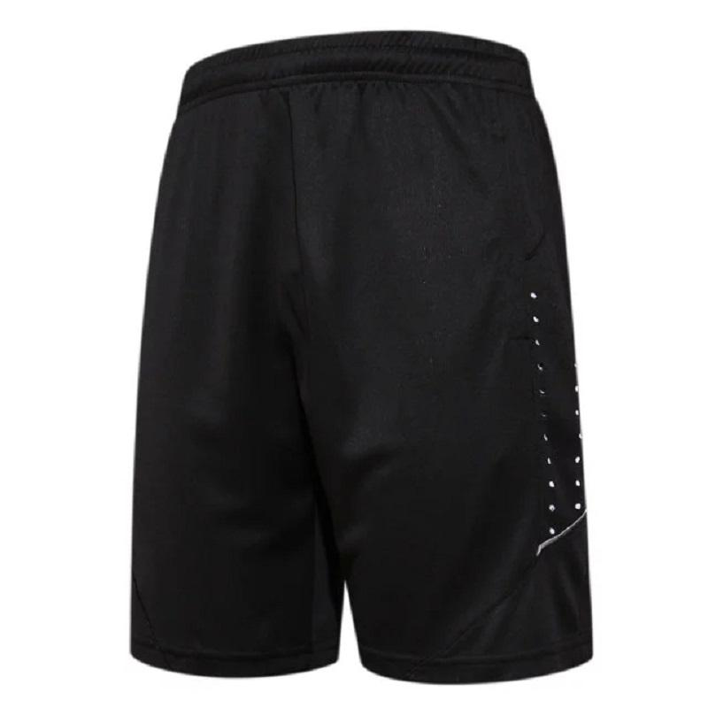 eea2c54f63 Wholesale- Quick Dry Men's Sports Basketball Shorts Elastic Waist Men  Running Shorts with Zipper Pocket Reflective Stripe Jogging Shorts