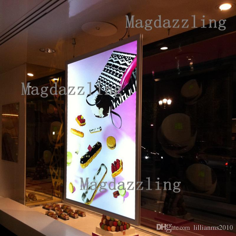 A1 Double Sided Aluminum Snap Frame Led Advertising Light