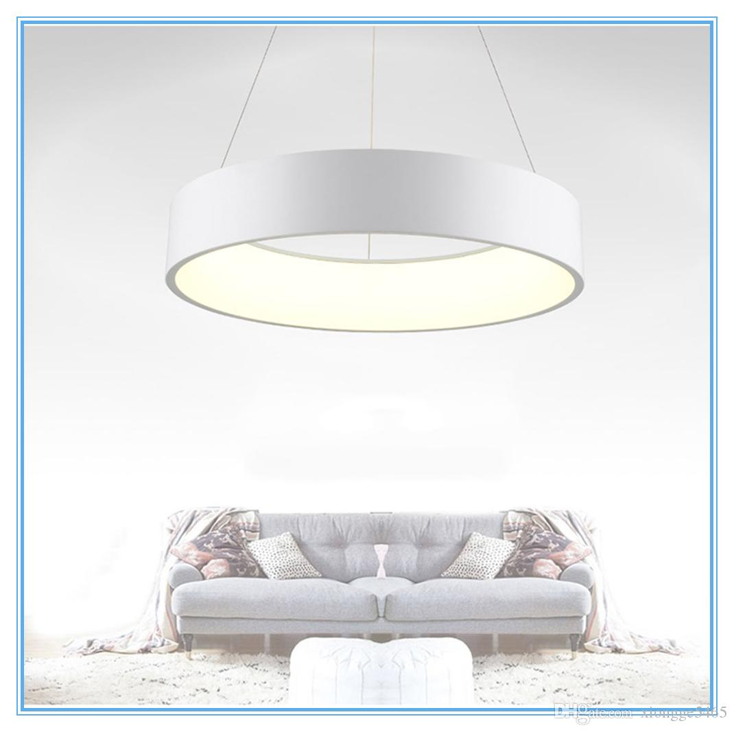 Ring Led Pendant Lamp Home Decor Acrylic Pendant Light Hanging ...