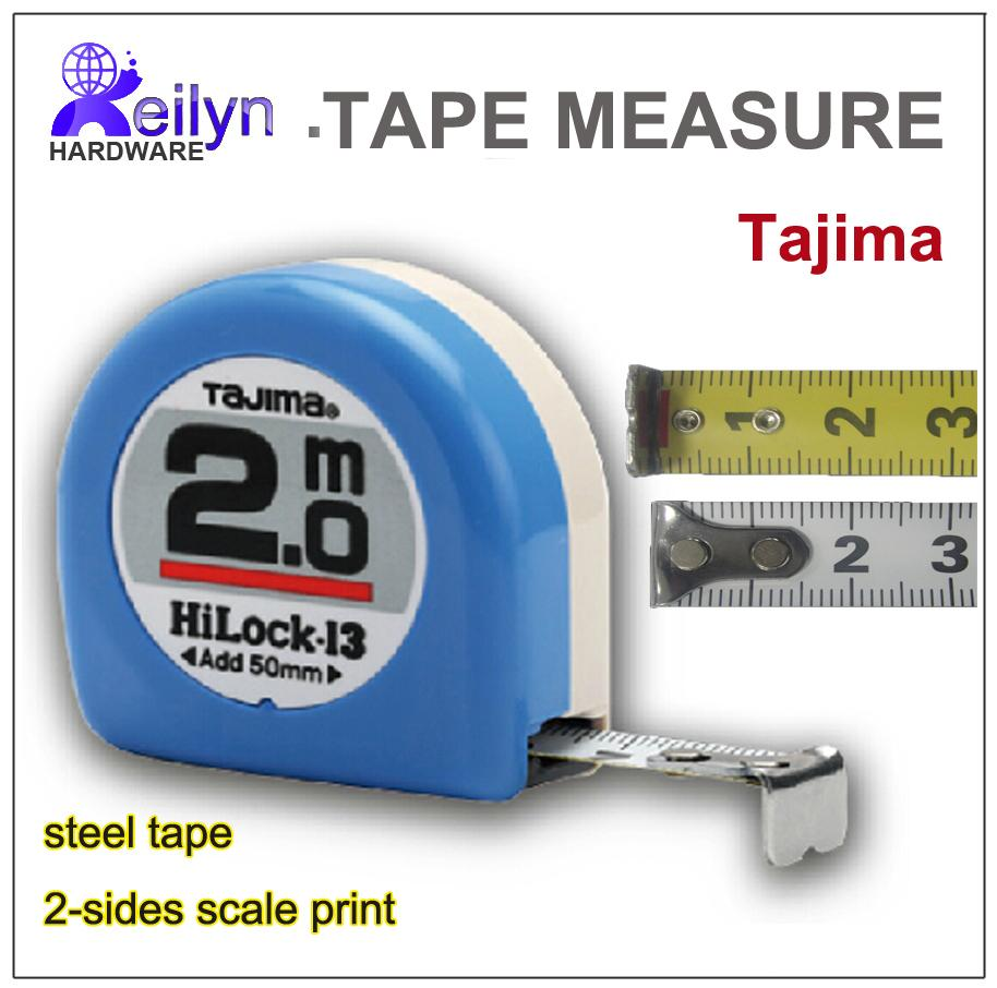wholesale tajima measuring tape 20m metric system steel tape measure pocket ruler 2 sides scale printed from aurorl dhgatecom