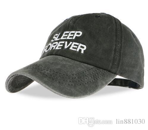 5fb3d8dfc1d 2017 Sleep Forever Snapbacks Punk Snapback Fashion Bone Baseball Cap ...