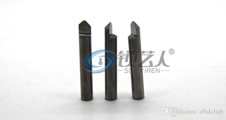 Tungsten carbide flat drill punching knife vertical key machine cutters sharp key carbide flat drill-milling cutter